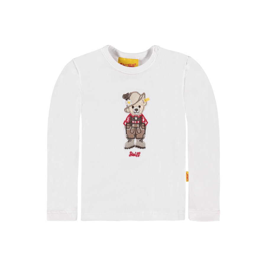 Steiff Boys Longsleeve bright white