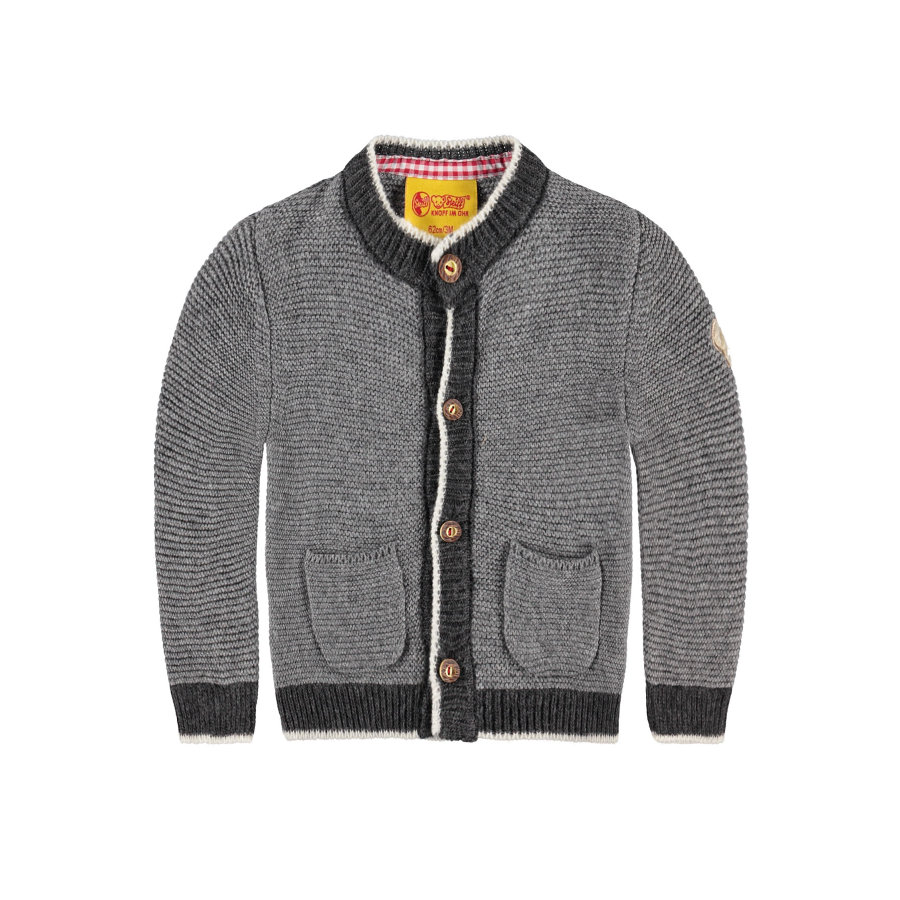 Steiff Boys Strickjacke grey