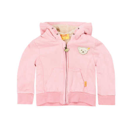 Steiff Girls Sweatjacke apricot