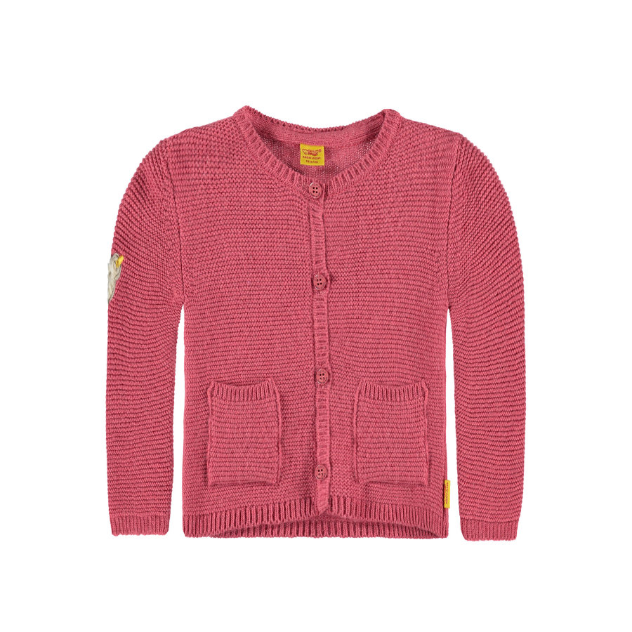 Steiff Girls Strickjacke rosé