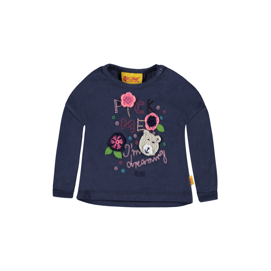Steiff Girls Longsleeve black iris