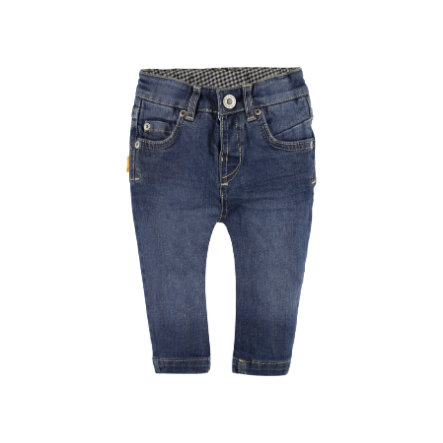 Steiff Boys Jeanshose washed blue denim