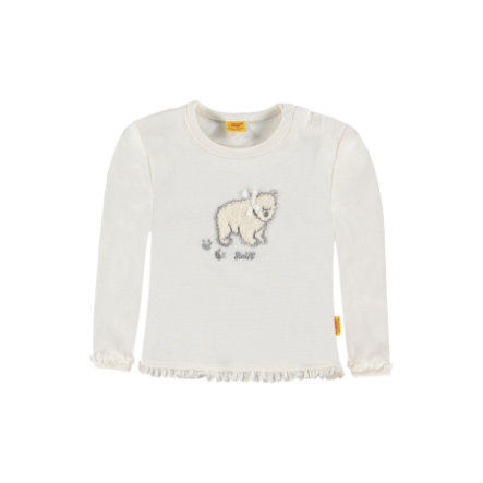 Steiff Girls Longsleeve cloud dancer