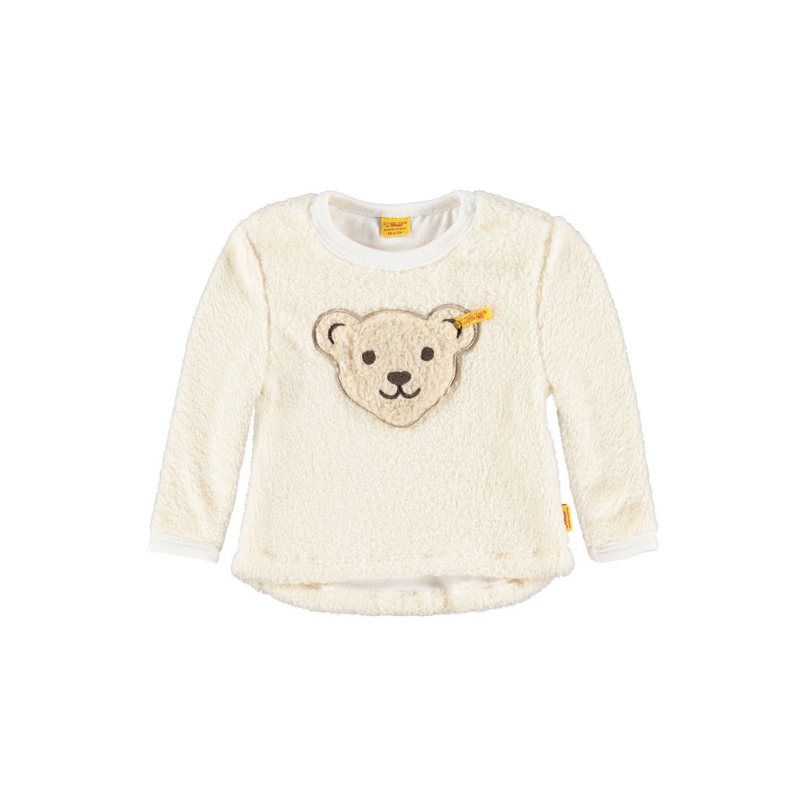 Steiff Girls Teddyplüsch Pulli cloud dancer