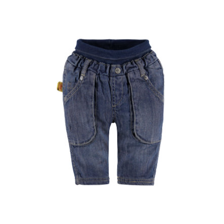 Steiff Boys Džíny washed blue denim