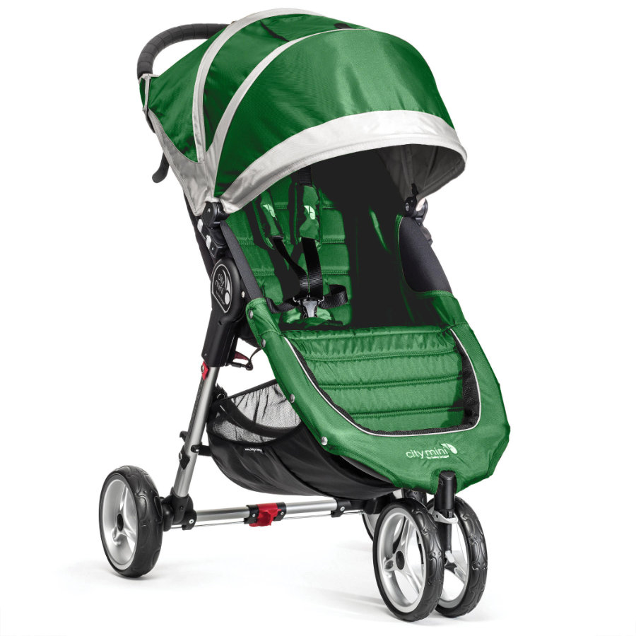 Baby Jogger Buggy City Mini 3 wheeler evergreen/gray