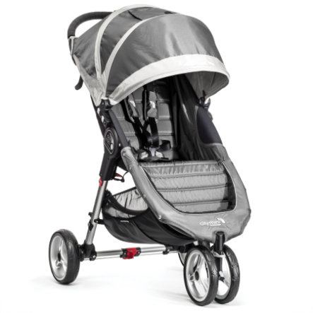 BABY JOGGER Poussette-canne City Mini 3 roues, steel/gray