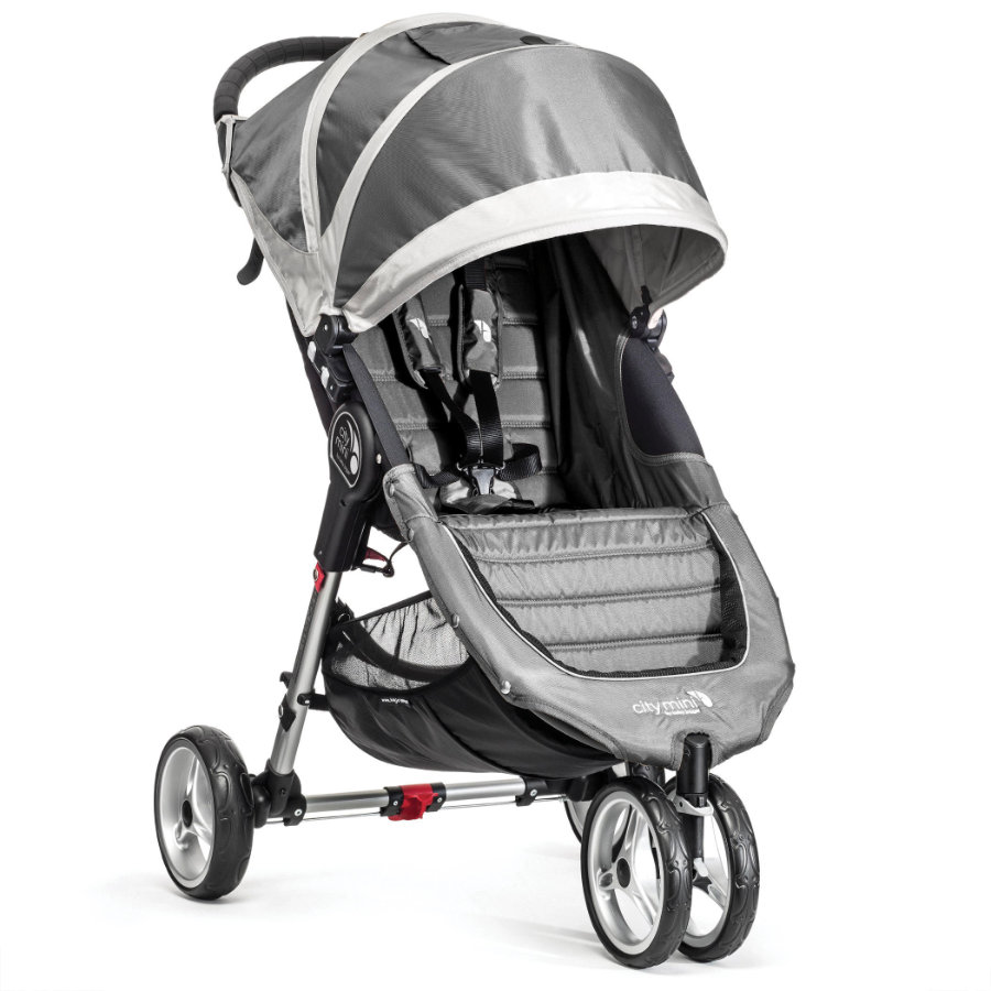 baby jogger Buggy City Mini 3 Rad steel/gray