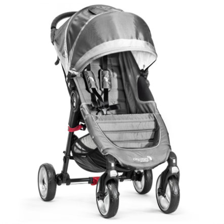 BABY JOGGER Poussette-canne City Mini 4 roues, steel/gray