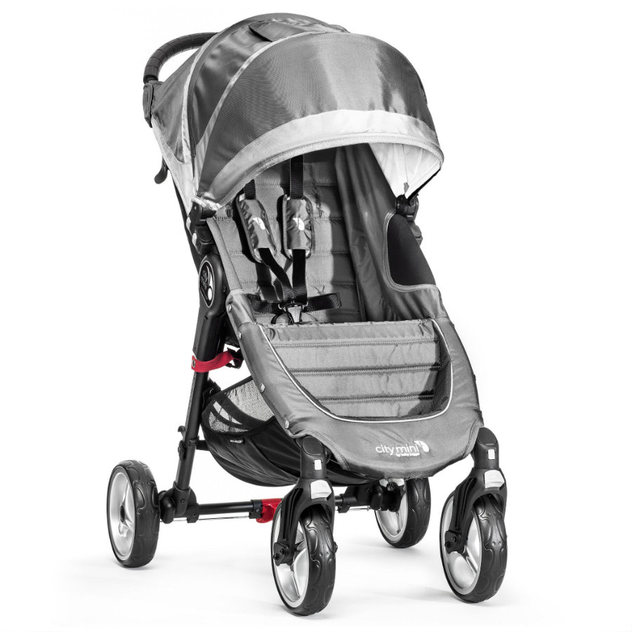 Baby Jogger Buggy City Mini 4 wheeler steel/gray