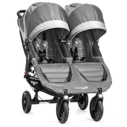 baby jogger Buggy City Mini GT Double steel/gray