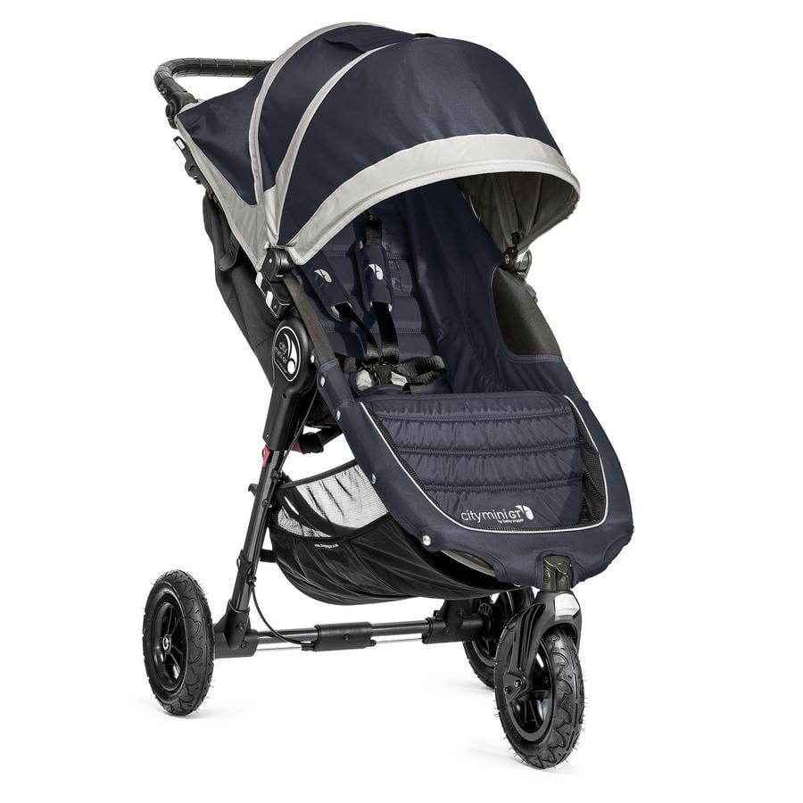 Baby Jogger, Klapvogn City Mini GT, 3 Hjul, Midnight/Gray