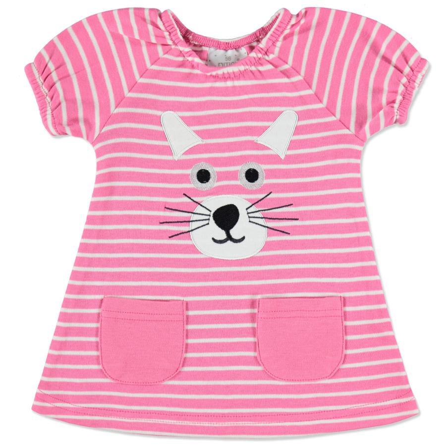 EDITION4Babys Sylt färgglad klänning rosa
