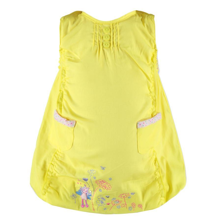 EDITION4Vestido Girl de bebé con globo amarillo