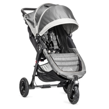 BABY JOGGER Poussette-canne City Mini GT 3 roues, steel/gray