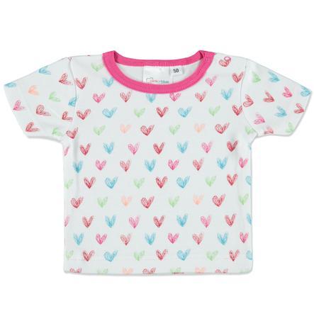 pink or blue  skjortahjärta