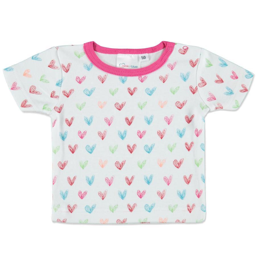 pink or blue Shirt herz