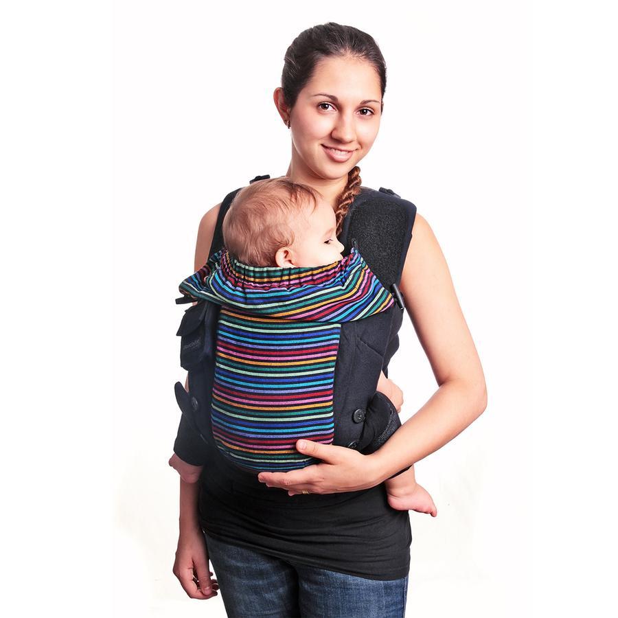 HOPPEDIZ Dětské nosítko Bondolino, lehká kvalita, Timbuktu černé