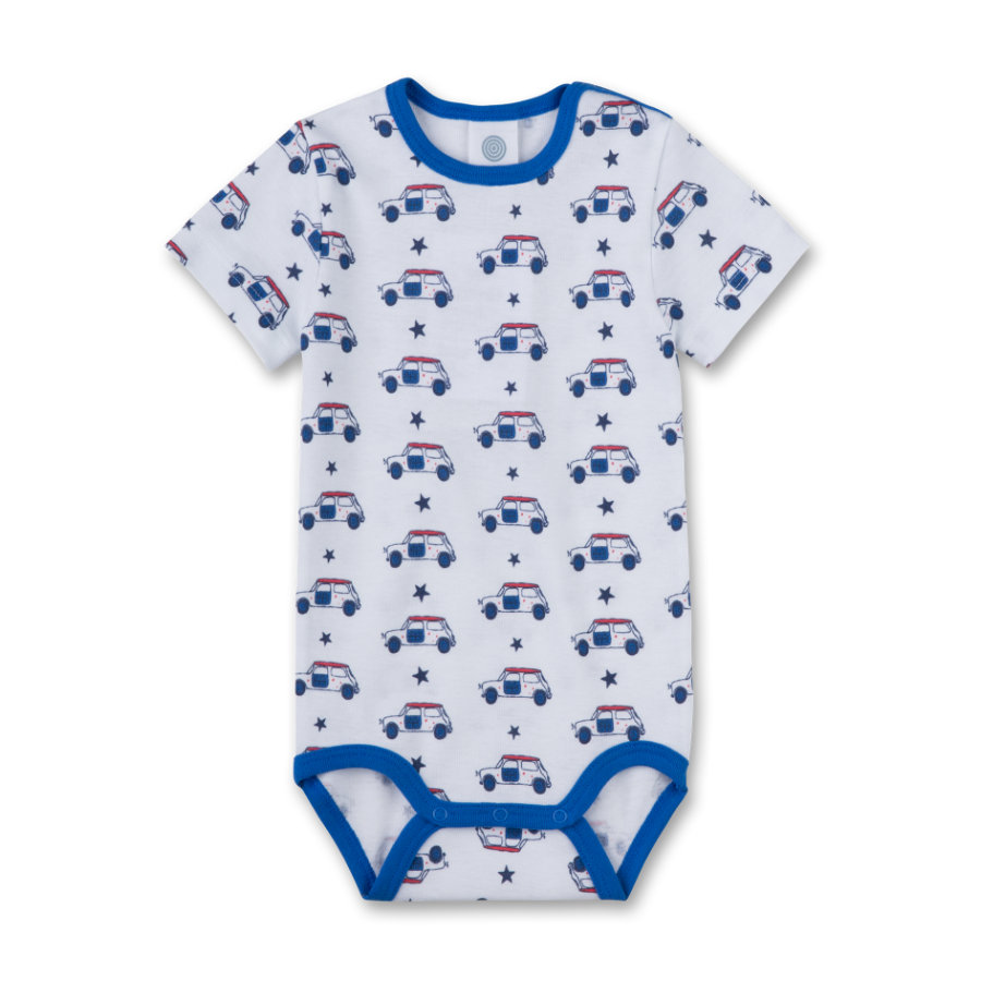 Sanetta Boys Body 1/4 Arm hellblau