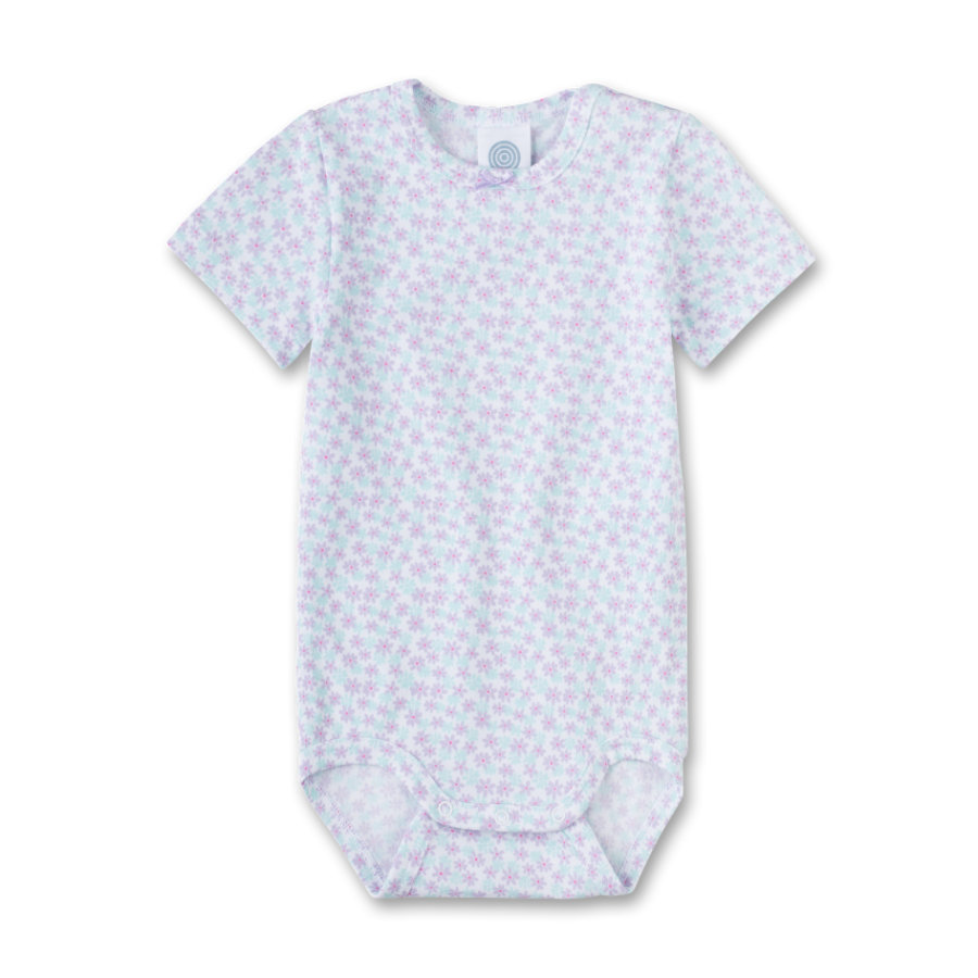 Sanetta Girls Romper 1/4 Arm white