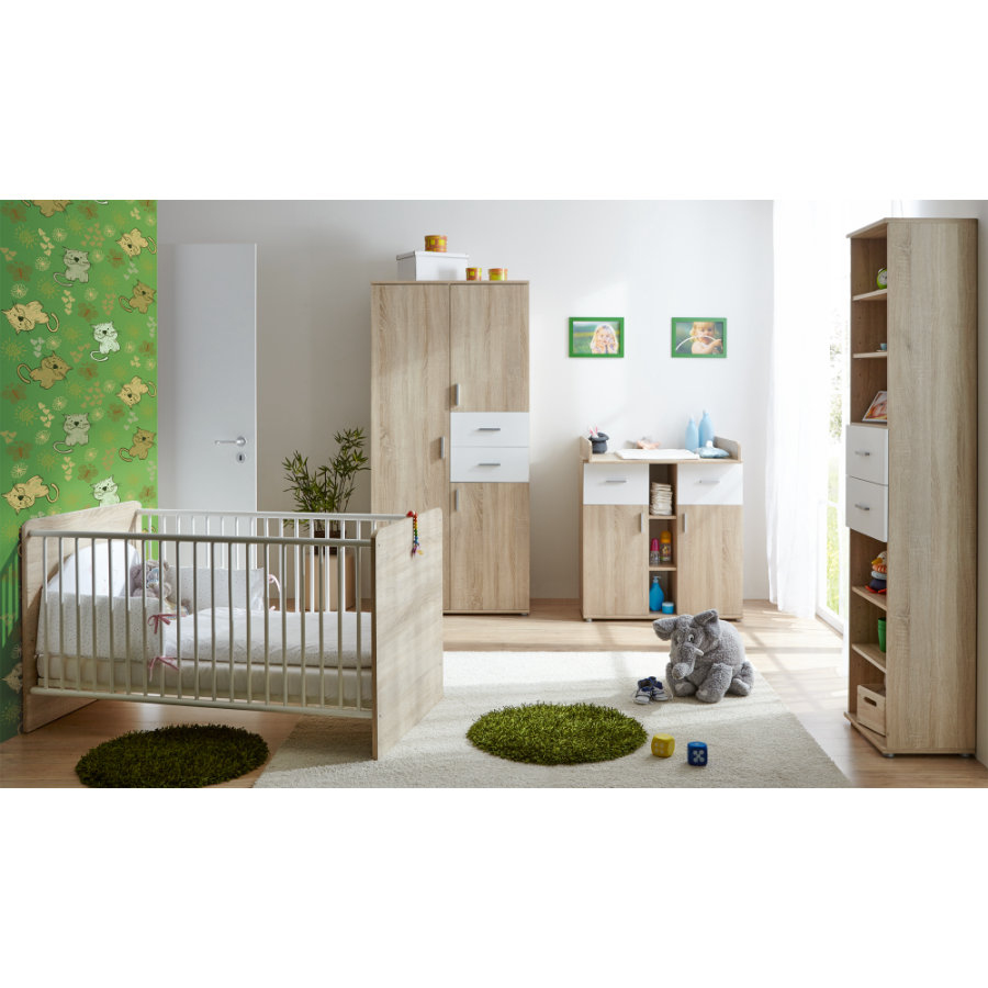 ticaa babyzimmer nico 4 teilig. Black Bedroom Furniture Sets. Home Design Ideas