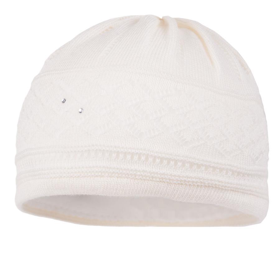 maximo Cappello battesimo festivo ecrù festivo