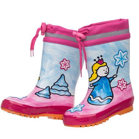 maximo Girl s bottes en caoutchouc glace princesse azalee/bleu