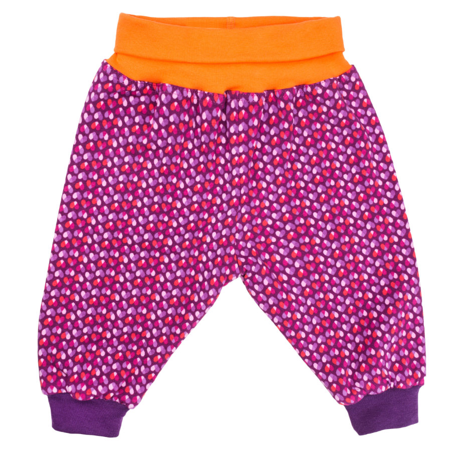 maximo Girls Wendehose Herz/Punkte rot/lila