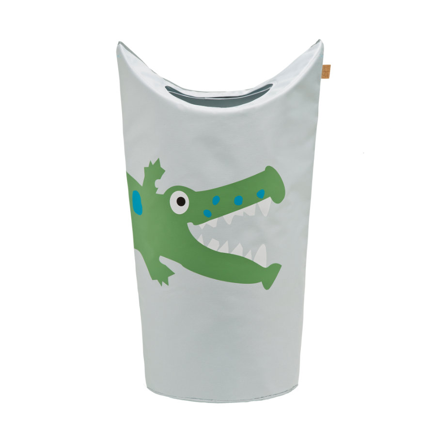 LÄSSIG 4Kids Laundry Bag Crocodile granny