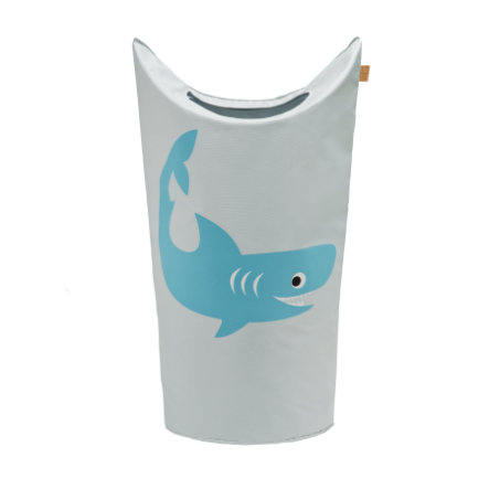 Lässig 4Kids Tvättkorg Bag Shark ocean