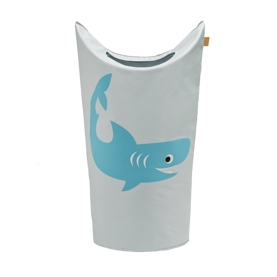 LÄSSIG 4Kids Laundry Bag Shark ocean