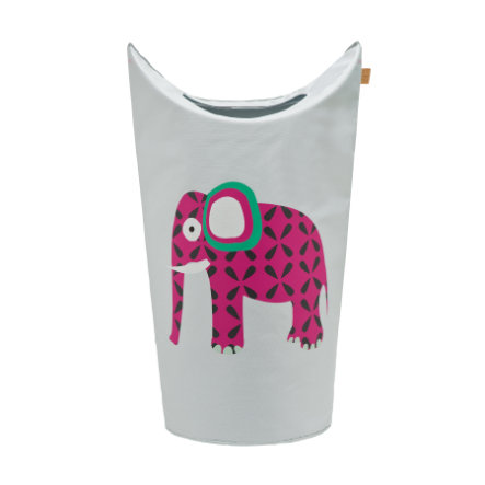 LÄSSIG 4Kids Laundry Bag Wildlife Elephant