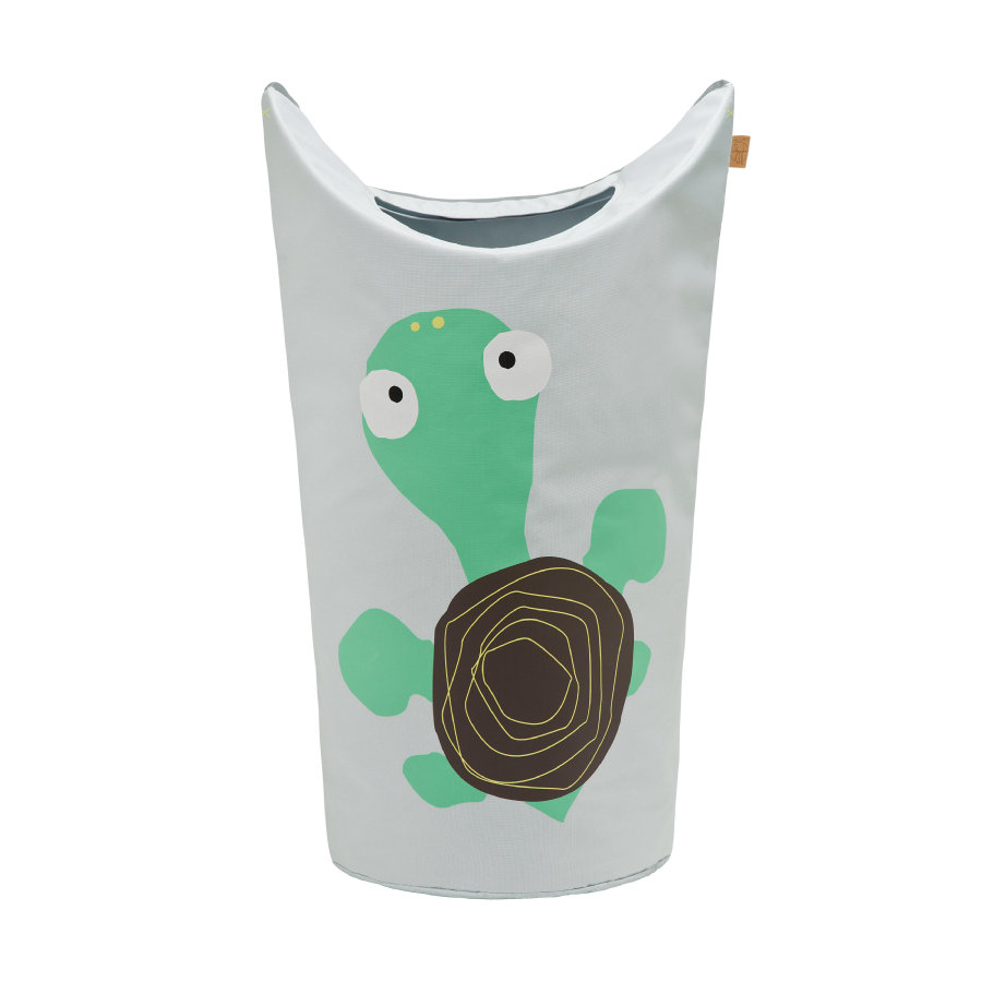 LÄSSIG 4Kids Laundry Bag Wildlife Turtle