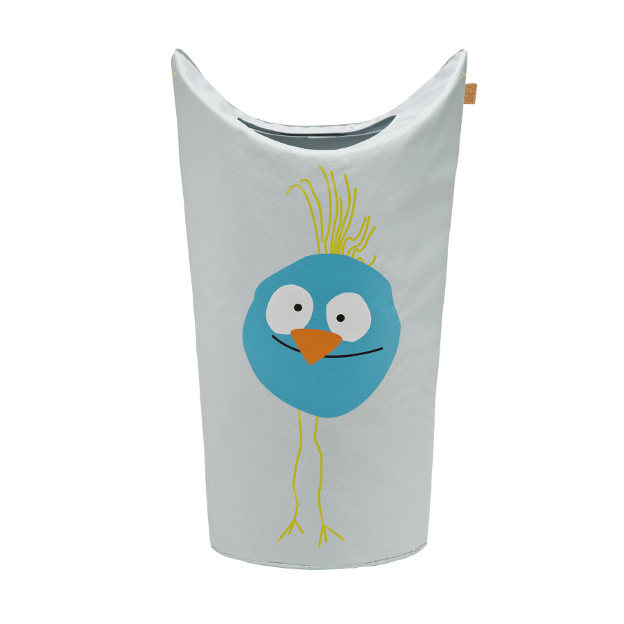 LÄSSIG 4Kids Panier à linge Laundry Bag Wildlife Birdie