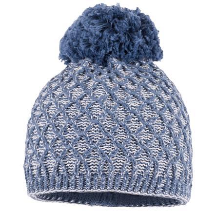 maximo Mütze mit Bommel denim-blau