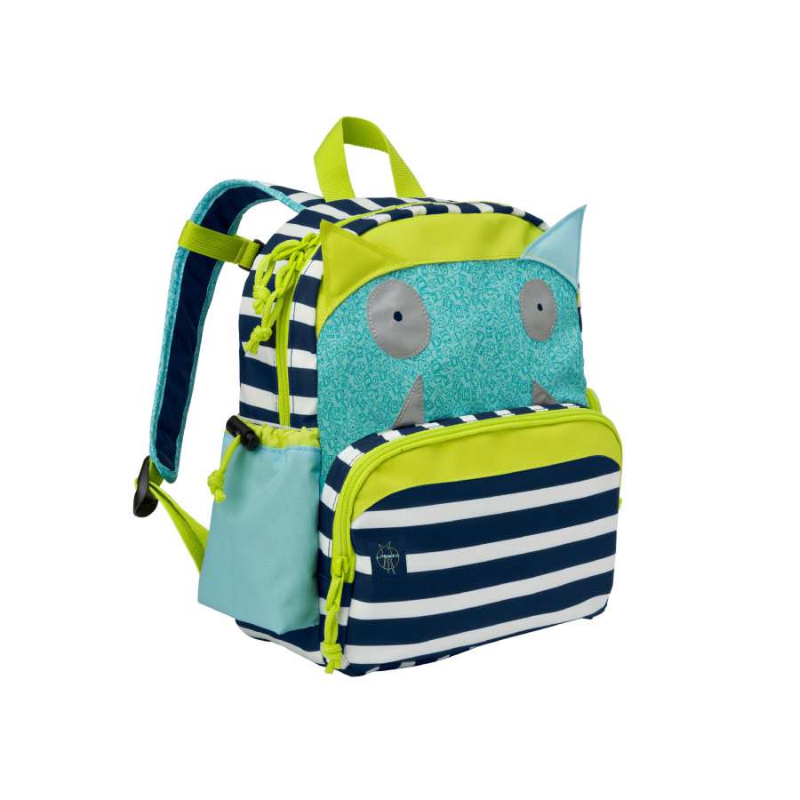 LÄSSIG 4Kids Backpack Little Monsters - Bouncing Bob
