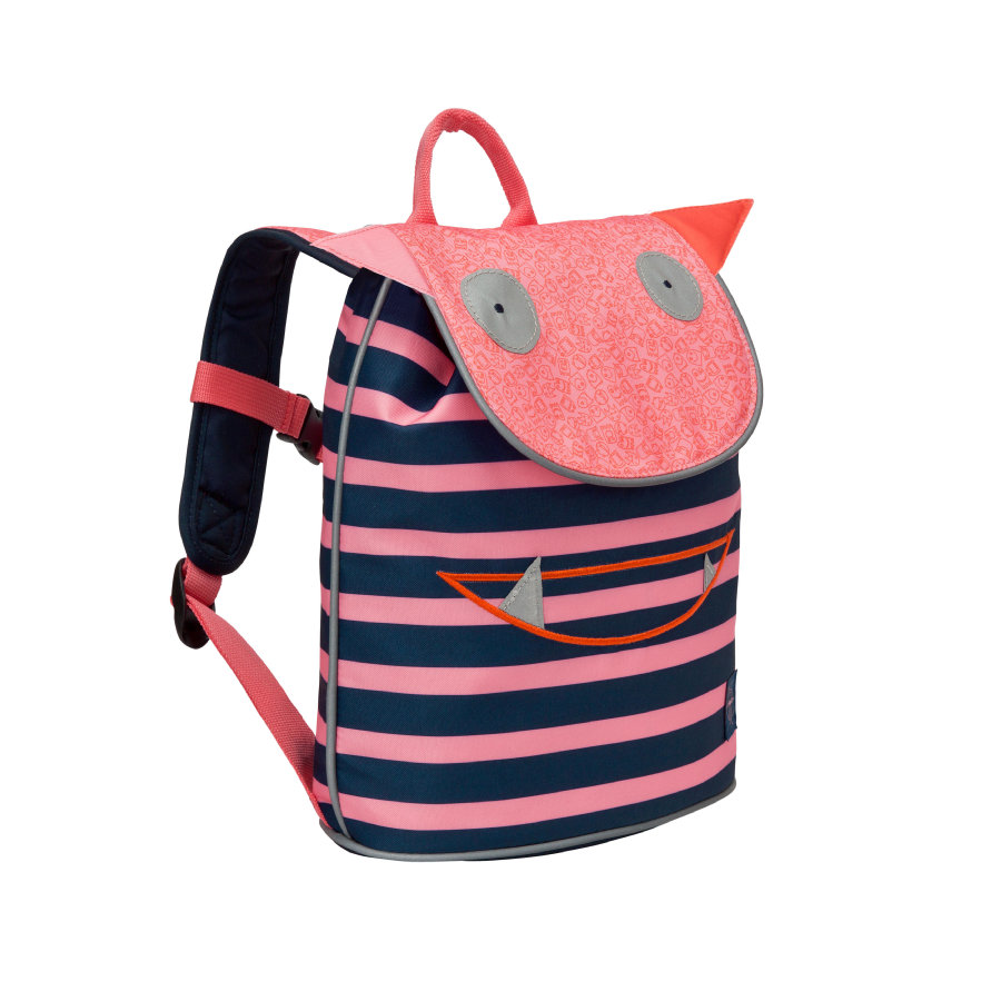 LÄSSIG 4Kids Mini Duffle Backpack Little Monsters - Mad Mabel