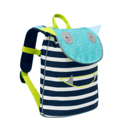 LÄSSIG 4Kids Mini Duffle Backpack Little Monsters - Bouncing Bob