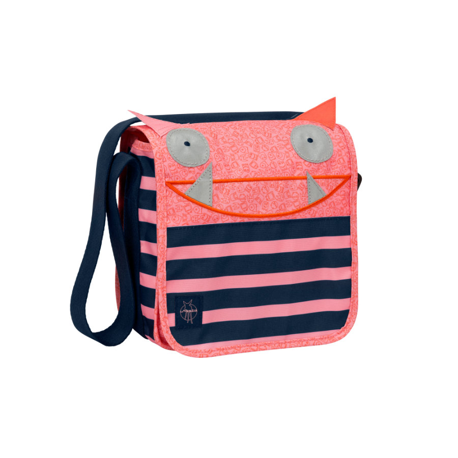 LÄSSIG 4Kids Mini Skötväska Messenger Bag Little Monsters - Mad Mabel