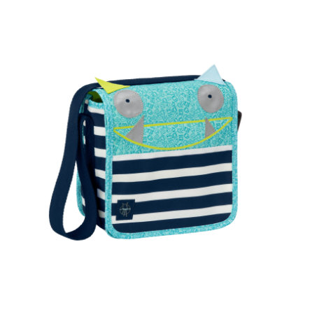 LÄSSIG 4Kids Mini Skötväska Messenger Bag Little Monsters - Bouncing Bob