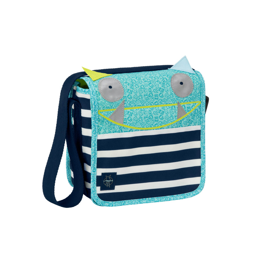 LÄSSIG Torba na ramię Mini Messenger Bag Little Monsters - Bouncing Bob