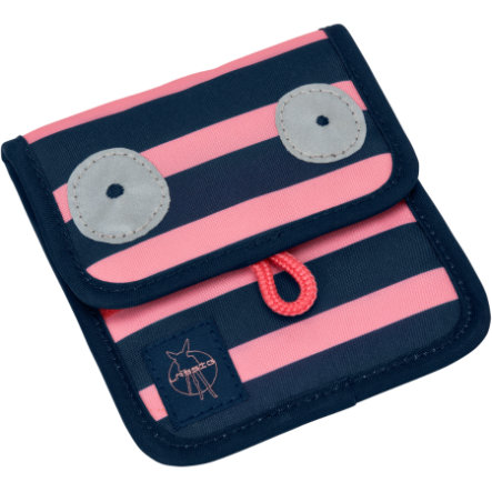 LÄSSIG 4Kids Porte-monnaie Mini Neck Pouch Little Monsters Mad Mabel