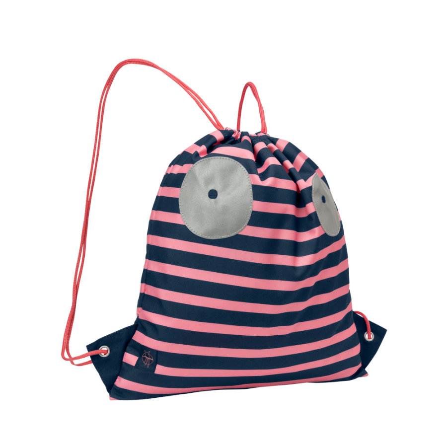 LÄSSIG 4Kids Sac de sport Mini String Bag Little Monsters Mad Mabel