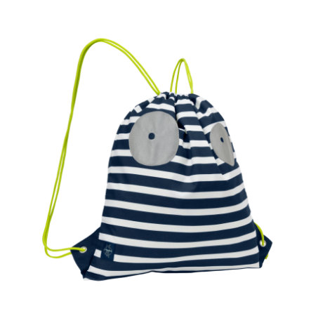 LÄSSIG 4Kids Sac de sport Mini String Bag Little Monsters Bouncing Bob