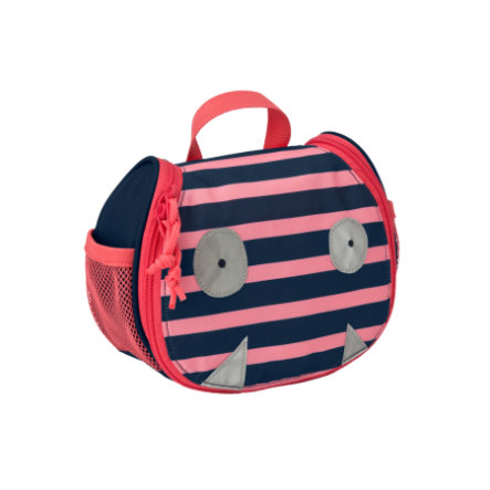 LÄSSIG 4Kids Trousse de toilette Mini Washbag Little Monsters - Mad Mabel