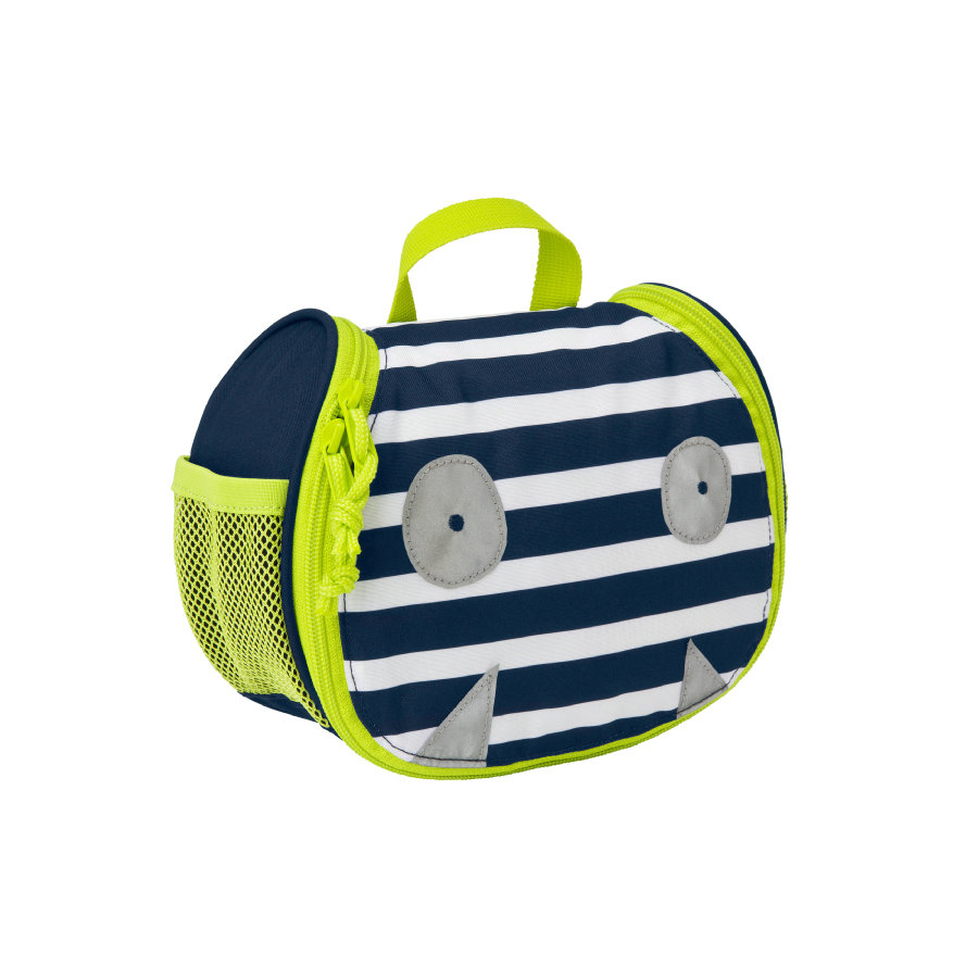 LÄSSIG 4Kids Mini Washbag Little Monsters - Bouncing Bob