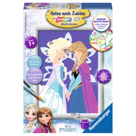 Ravensburger Malen nach Zahlen - Disney Frozen: Winter Magic
