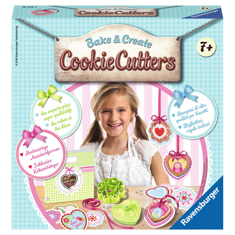 Ravensburger Back and Create - Cookie Cutters