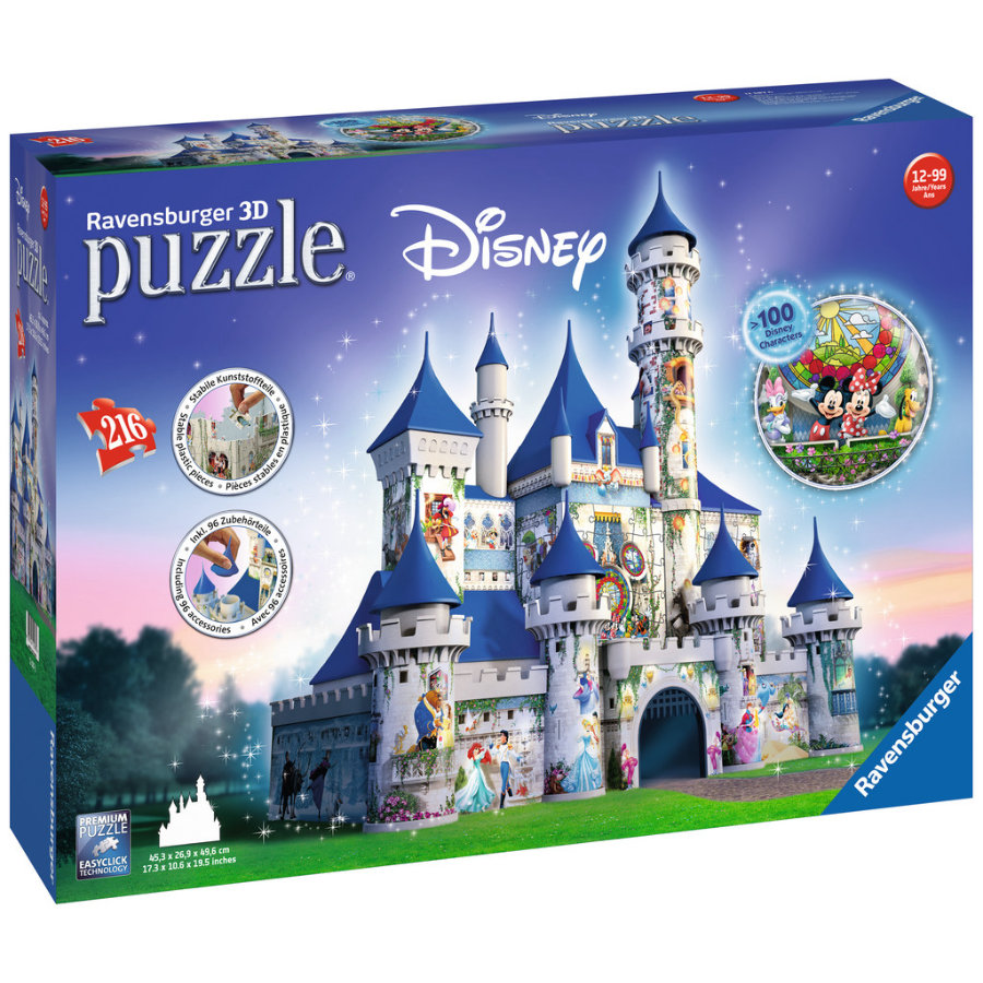 Ravensburger 3D Puzzle-Bauwerke - Disney Schloss
