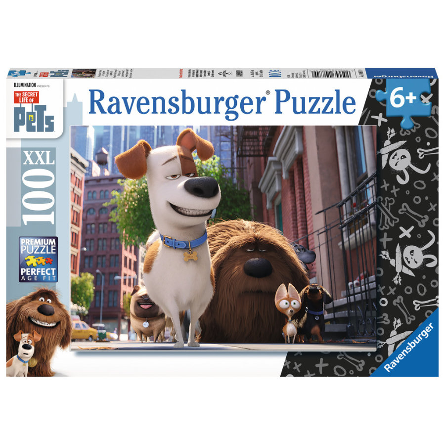 RAVENSBURGER Puzzle XXL 100 elementów - The Secret life of Pets